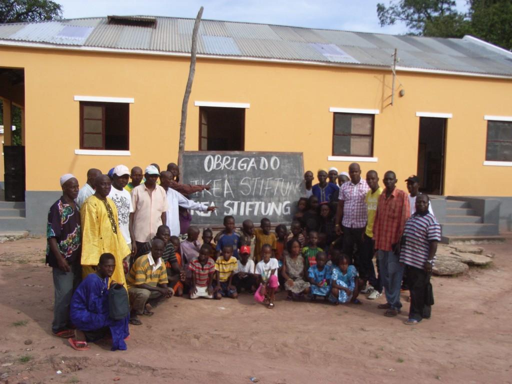 Übergabe der sanierten Schule
